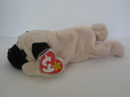 Pugsly (Mislabeled as Velvet) - Beanie Baby